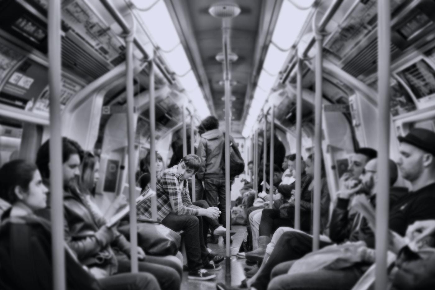 Fake Commute Ldn Tube