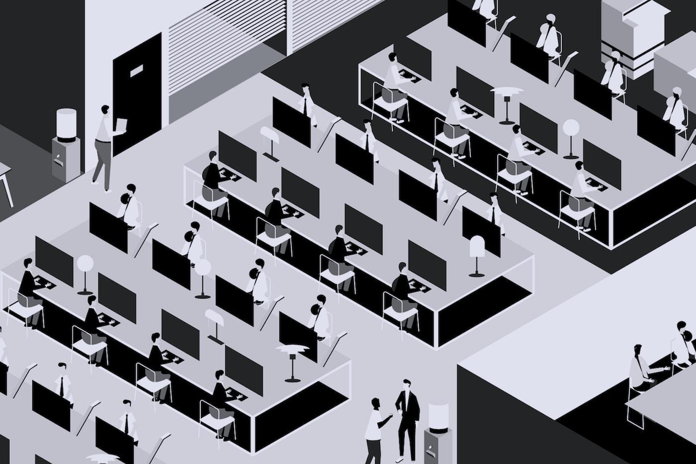 Open Plan Office Focus Hero