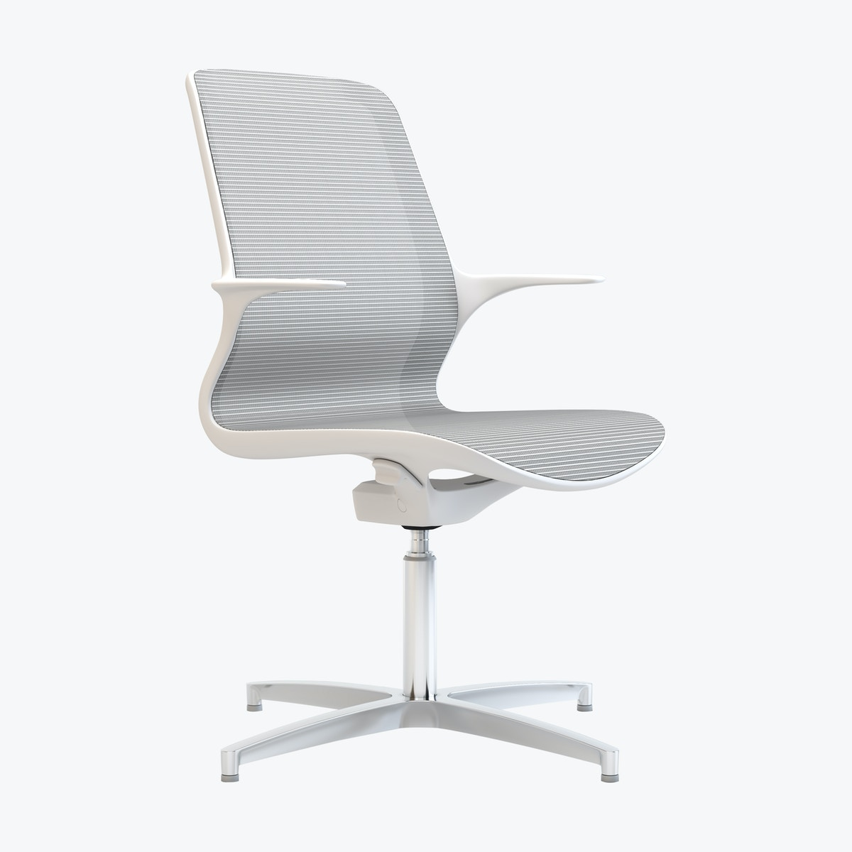 Tempo Mesh Four Star Base Office Chair